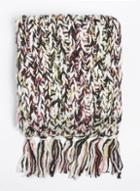 Dorothy Perkins Salt And Pepper Knitted Scarf