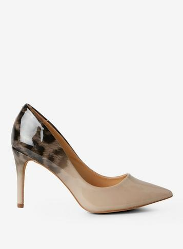 Dorothy Perkins Nude Eden Ombre Court Shoes