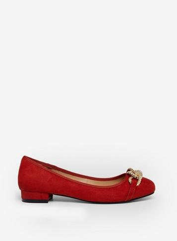 Dorothy Perkins Rust Porto Pumps