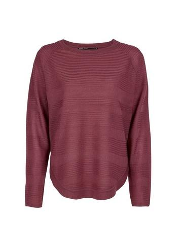 Only Play *only Wine Red Fine Gauge Jumper