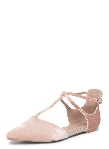 Dorothy Perkins Wide Fit Blush 'hally' Flats