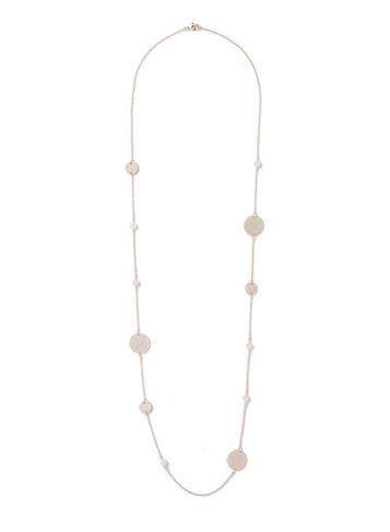 Dorothy Perkins Pink Filigree Stone Necklace