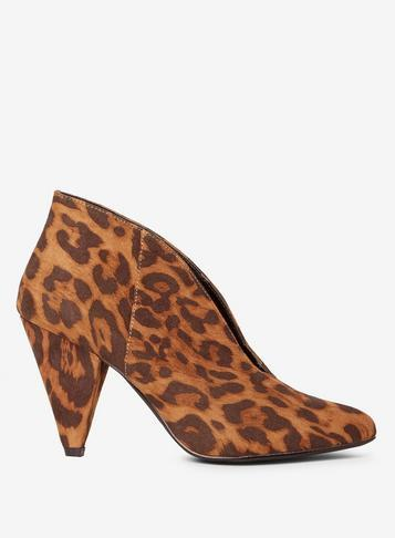 Dorothy Perkins Wholesale Exclusive Leopard Admire V-cut Shoe Boots