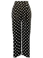 Dorothy Perkins *dp Curve Monochrome Spotted Palazzo Trousers
