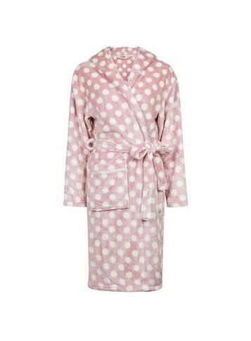 Dorothy Perkins Cream Polka Dot Printed Robe