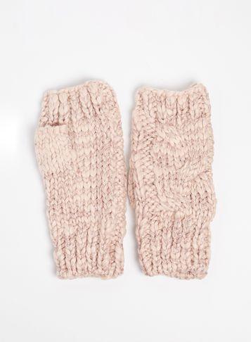 Dorothy Perkins Pink Fingerless Gloves