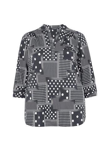 Dorothy Perkins *dp Curve Mono Ity Shirt