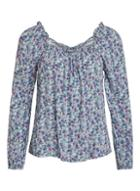 *vila Multi Colour Printed Longsleeve Top