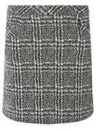 Dorothy Perkins Monochrome Checked Mini Skirt