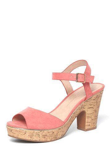 Dorothy Perkins Wide Fit Pink 'romana' Sandals
