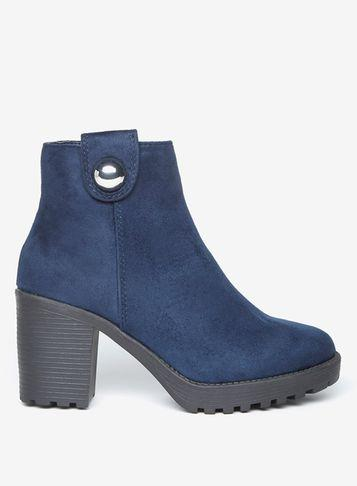 Dorothy Perkins Navy 'malice' Ankle Boots