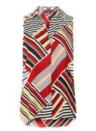 Dorothy Perkins Multi Colour Striped Sleeveless Shirt