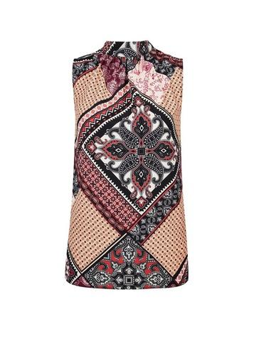Dorothy Perkins Multi Colour Paisley Print Top