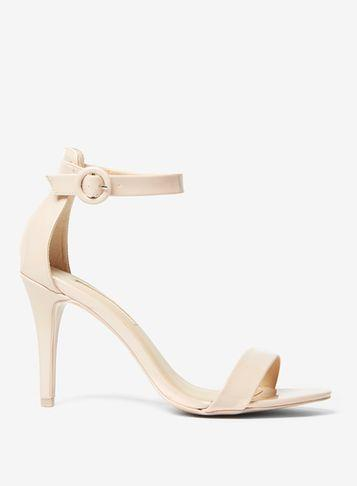 Dorothy Perkins Nude 'bounce' Heeled Sandals