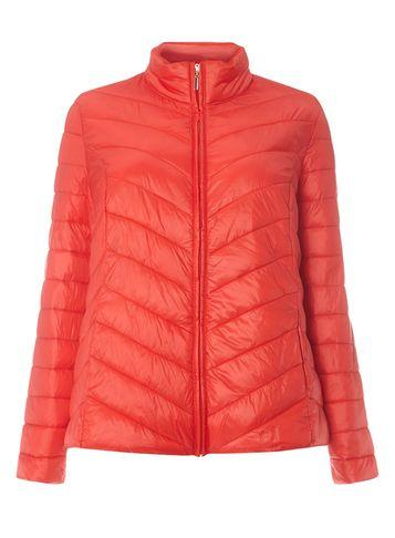 Dorothy Perkins Dp Curve Red Puffed Jacket