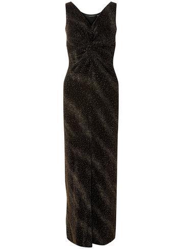 Dorothy Perkins Gold Knot Maxi Dress