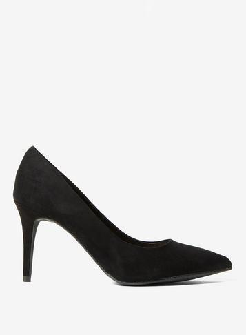 Dorothy Perkins Black New Lower Heel 'electra' Court Shoes
