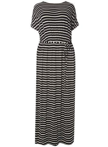 Dorothy Perkins Dp Curve Jersey Cold Shoulder Maxi Dress