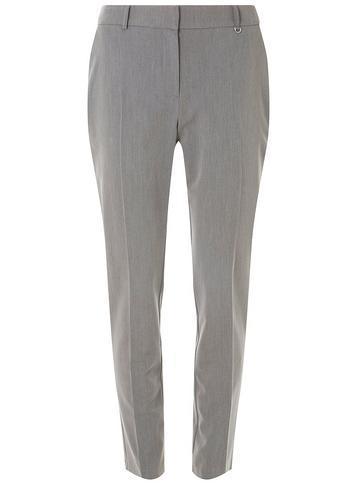 Dorothy Perkins Grey D-ring Slim Trousers