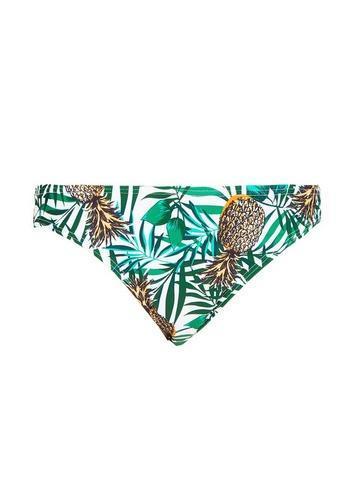 Dorothy Perkins *dp Beach Pineapple Print Low Rise Bikini Bottoms