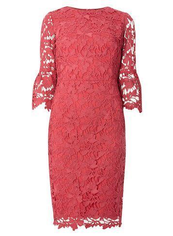 Dorothy Perkins *showcase Gigi Pink Corded Bodycon Dress