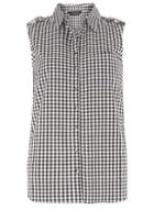 Dorothy Perkins Sleeveless Gingham Shirt