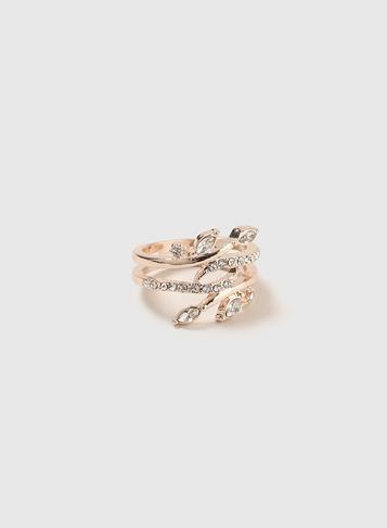 Dorothy Perkins Leaf Wrap Ring