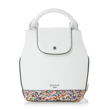 Dune London Donanza Beaded Trim Top Handle Mini Backpack Bag