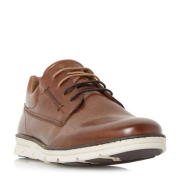 Dune London Bachelor White Wedge Gibson Shoe