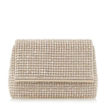 Dune London Everlina Diamante Embellished Clutch Bag