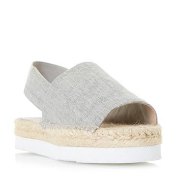 Dune London Lucindie Flatform Espadrille Sandal