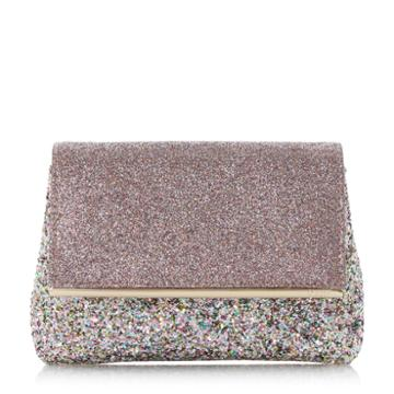 Dune London Beautify Glitter Clutch Bag