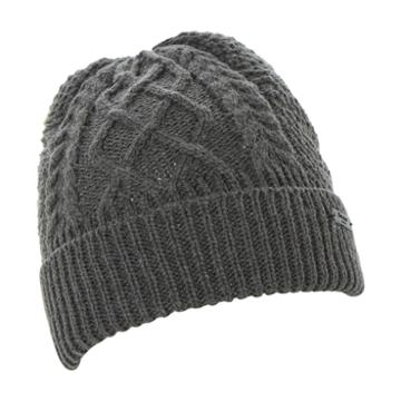 Dune London Ombre Cable Knit Turn Up Beanie Hat