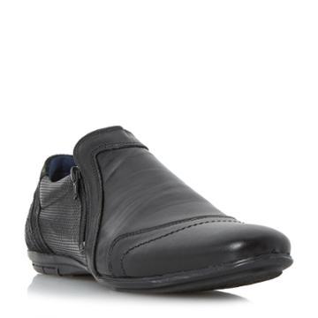 Dune London Brave Side Zip Casual Shoe