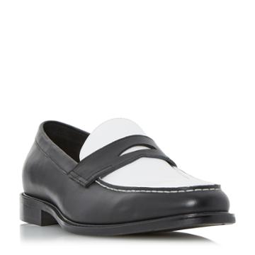 Dune London Playa Seam Detail Penny Loafer