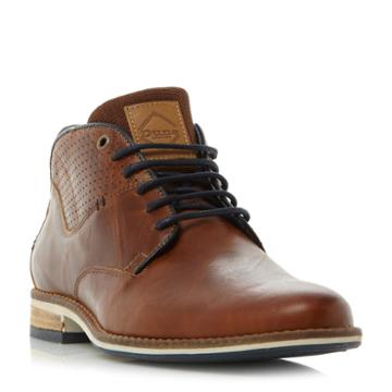 Dune London Chambers Blue Sole Lace Up Casual Boot