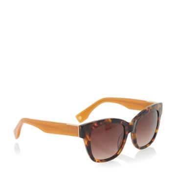 Dune London Graciey Tortoiseshell Angular Frame Sunglasses