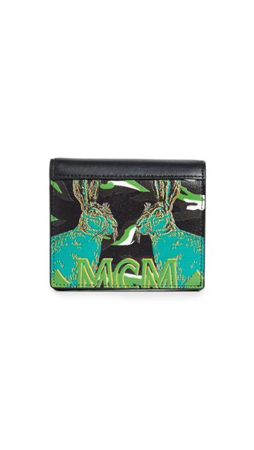 Mcm Mini Pop Rabbit Wallet