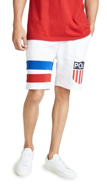 Polo Ralph Lauren Chariots Tech Sweatshorts