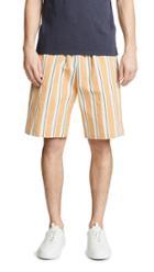 Tomorrowland Striped Easy Shorts
