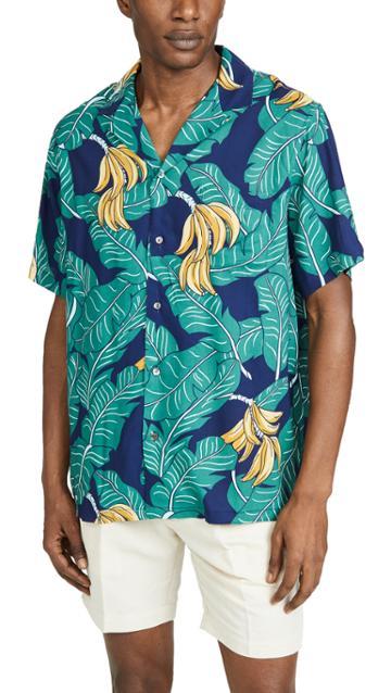 Reyn Spooner Monkey Forest Camp Shirt