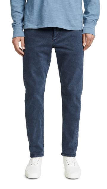 Rag Bone Standard Issue Fit 2 Jeans In Dark French Blue Wash