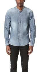 The Kooples Light Indigo Long Sleeve Shirt