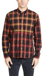 Billy Reid Long Sleeve Taped Tuscumbia Button Down Shirt