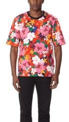 Ami Oversized Floral Tee
