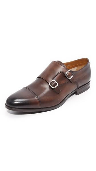 Doucal S Sebastiano Double Monkstrap Shoes