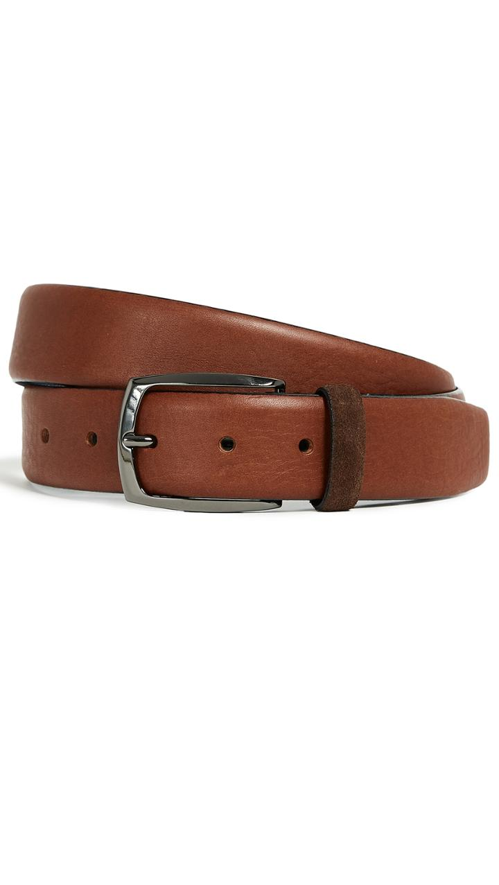 Ted Baker Cubes Leather Belt