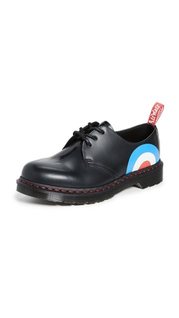 Dr Martens X The Who 1461 3 Eye Lace Ups