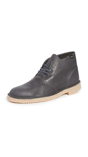 Clarks Goretex Leather Desert Boots