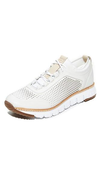 Cole Haan Zerogrand Perforated Leather Sneakers